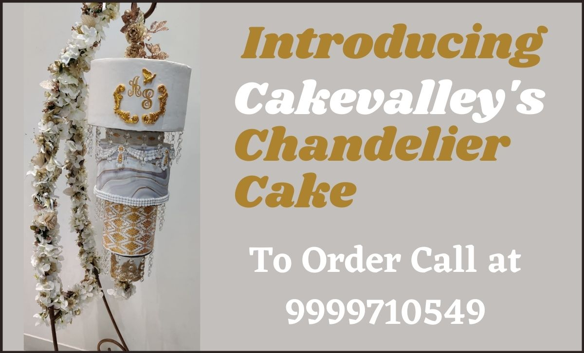 Cakevalley chandelier Cake